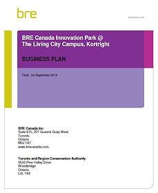 BRE Innovation Park Business Plan