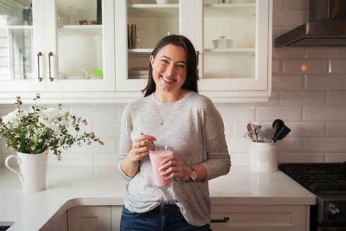 Renée, Nutritionist In Kitchen