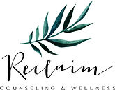 Anxiety Counselin, Reclaim couneling and wellness Logo