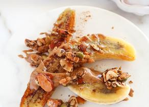 Healthy Caramelized Bananas (whole 30, vegan, paleo)