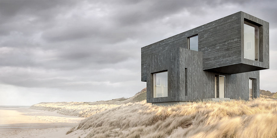 Sustainable Shipping Crate House Design