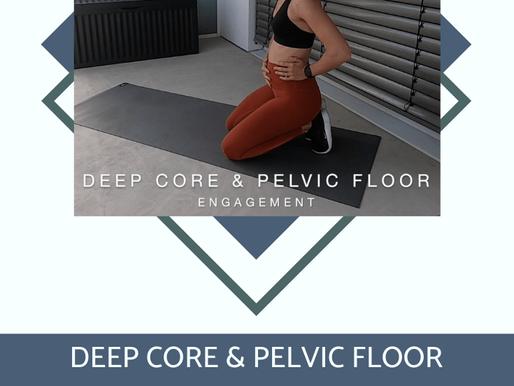 The Core Breath – Engaging your TVA & Pelvic Floor