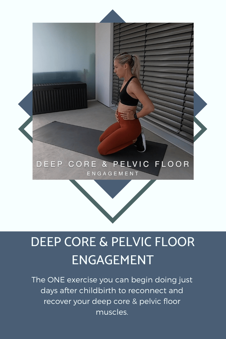 Deep Core and Pelvic Engagement Banner