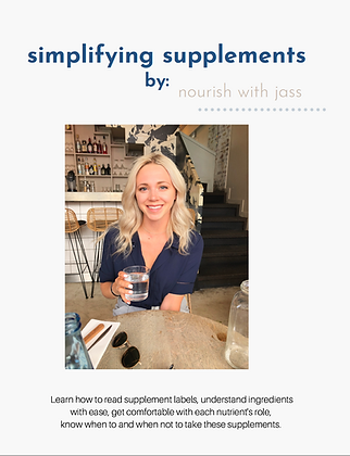 simplifying supplements eBook