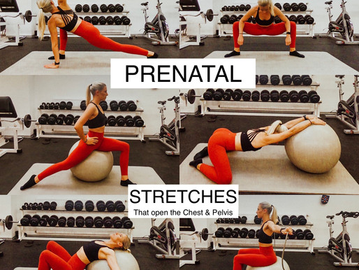 Prenatal Stretching – Opening the Chest & Pelvis