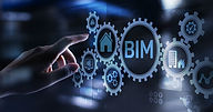Hand Touching Screen With BIM Logo