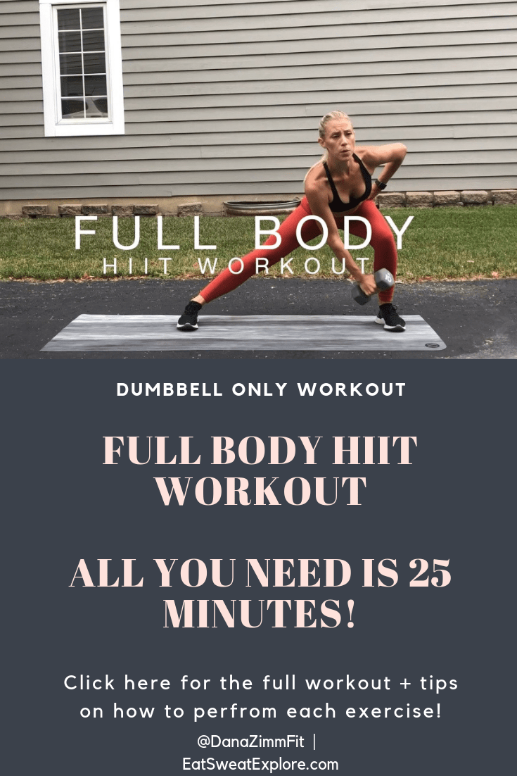 Full Body HIIT Workout Banner