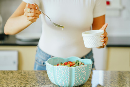 Person Making Nutritious Meal