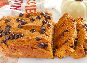Healthy Pumpkin Bread (Paleo)