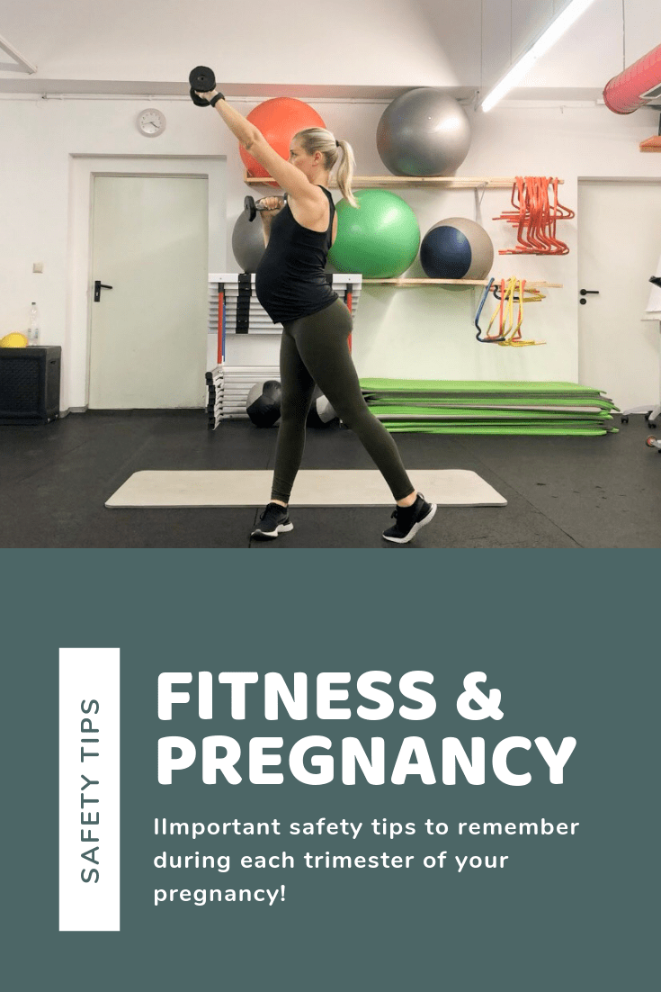 Fitness & Pregnancy Safety Tips Banner