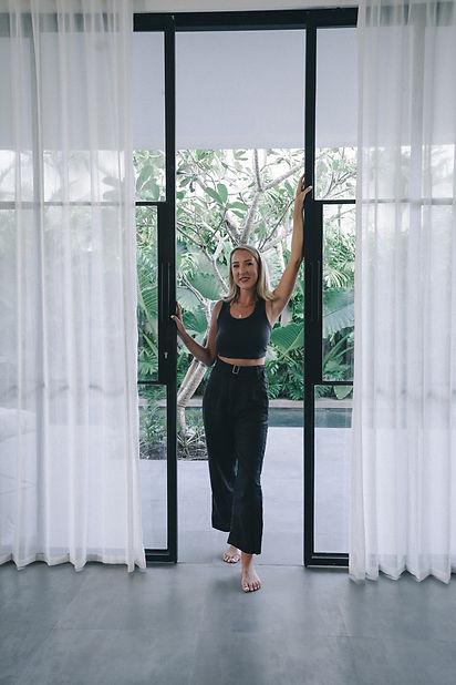 Marley Standing In Doorway