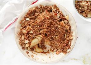 Healthy Apple Crisp (Paleo, Vegan)