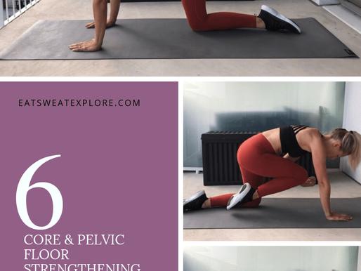 Pregnancy/Postpartum Core & Pelvic Floor Workout