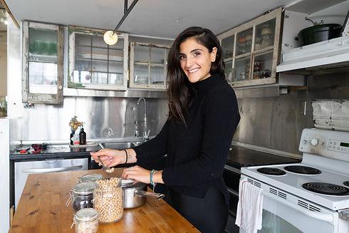 Jiordana, Creating Nutritional Meal