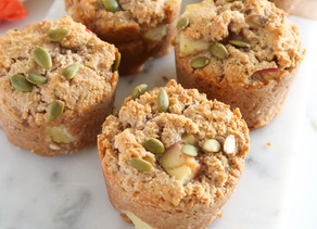 Healthy Apple Cinnamon Muffins (Paleo)