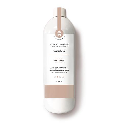 "Glo Organic Tanning Solution: ""THE MEDIUM"""