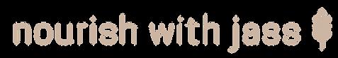 Nourish With Jass Logo