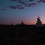 Tipis In Saskatchewan