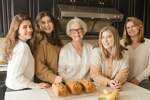 Photo of the family that founded Bright Bread Company