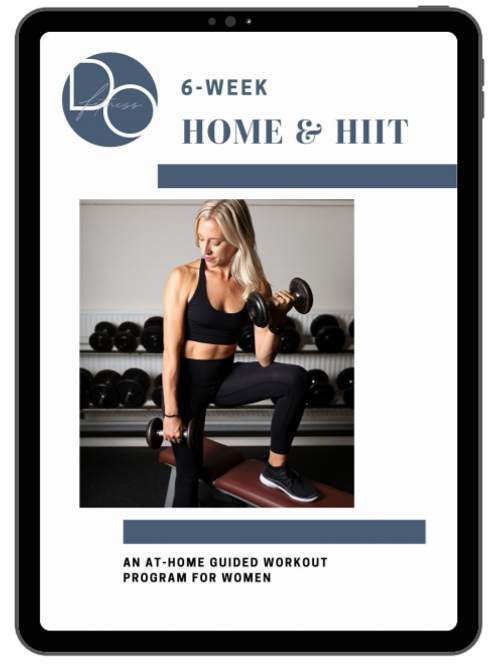 6-Week Home & HIIT Program with Accountability