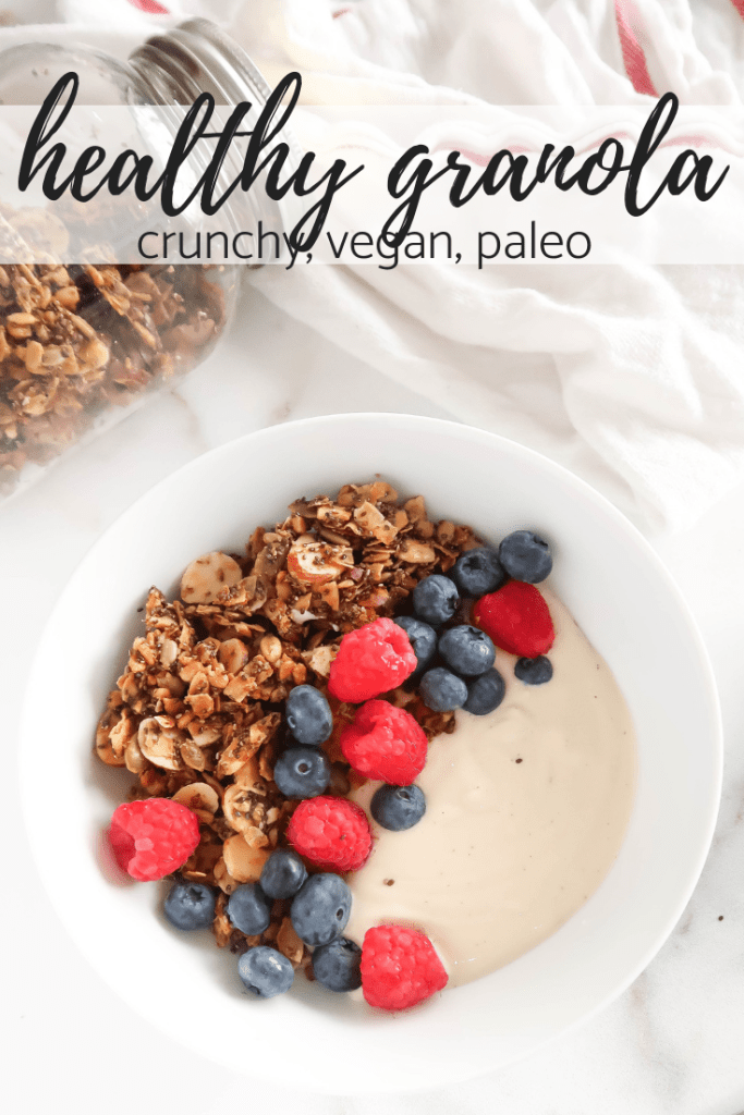 healthy granola recipe paleo vegan