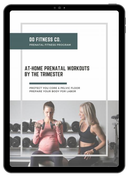 At-Home Prenatal Workout Program