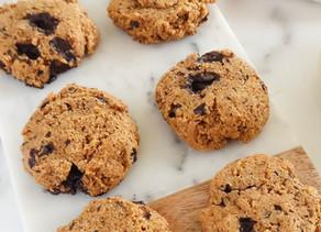 Pumpkin Chocolate Chip Cookies (Paleo, Vegan)