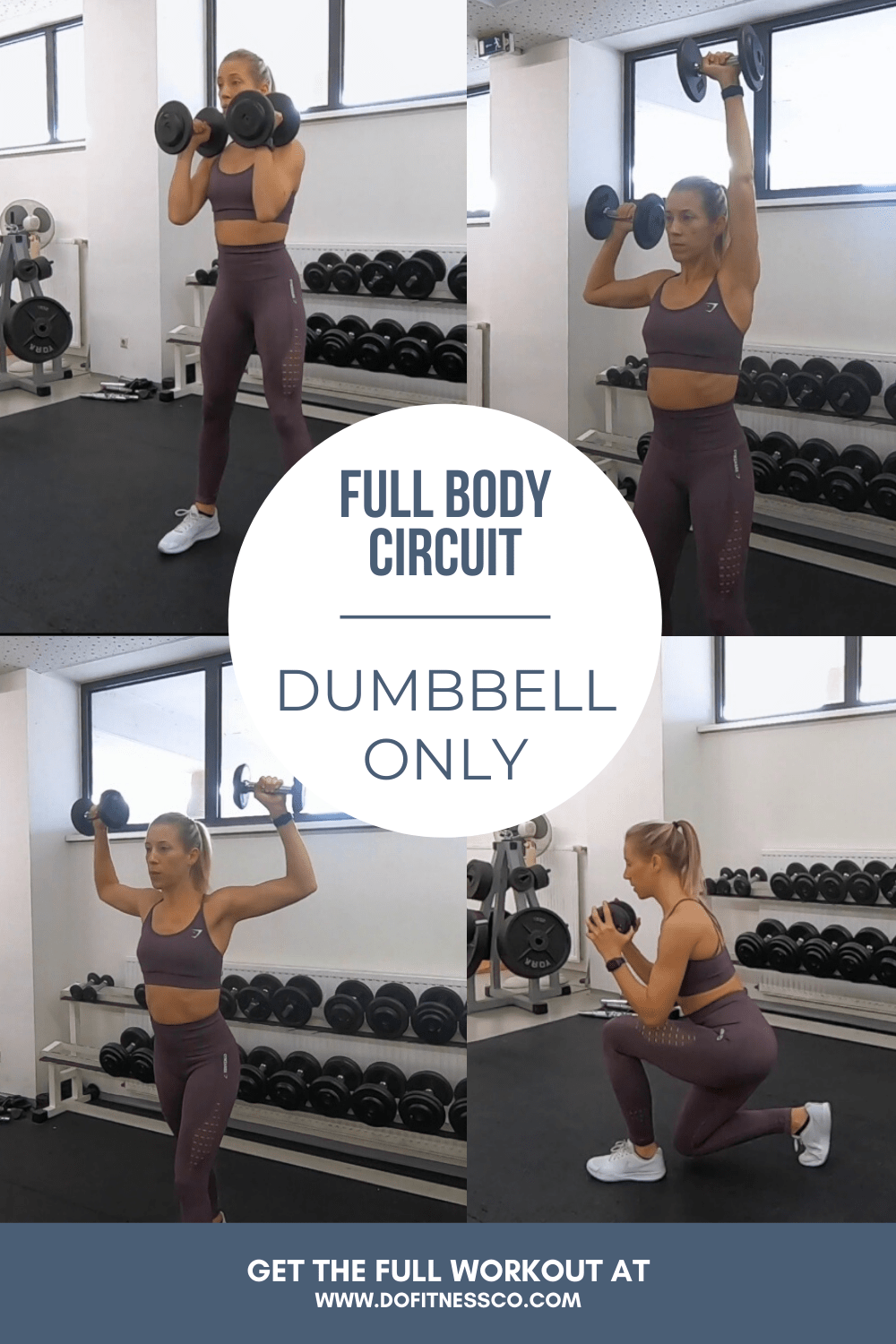 Full Body Circuit, Dumbbell Only Banner Image