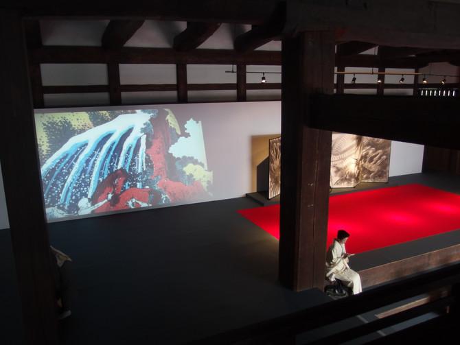 [北斎 水廻り]京都二条城で公開
