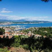 La Spezia from above