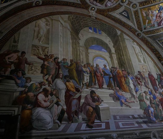 Vatican Museum - The School of Athens by