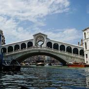 Rialto Bridge.  Venice, Italy
