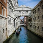 Bridge of Sighs.  Venice, Italy