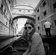 Audrey on the Gondola
