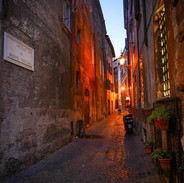 Rome - Evening Streets