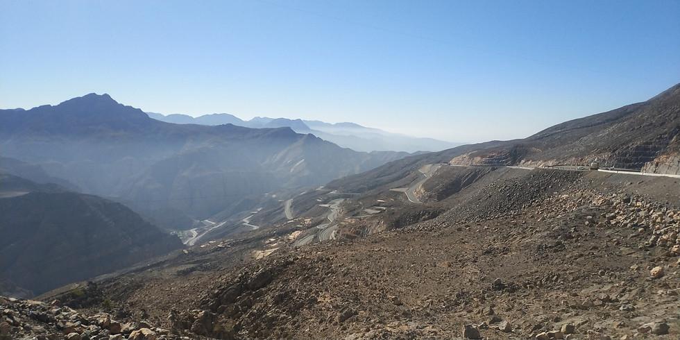 Everesting on Jebel Jais mountain