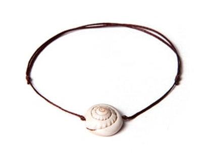 Deniz Kabuğu Minimal Bileklik - Halhal