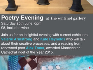 POETRY EVENING AT THE SENTINEL GALLERY, WIVENHOE