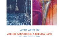 """MEDITATIONS"" An exhibition in Aldeburgh shared with printmaker Brenda Nash."