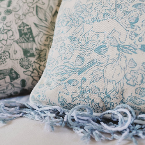 Rodel and Luskentyre cushion covers