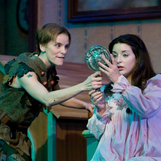 Ali Axelrad with Jenn Colella in Peter Pan