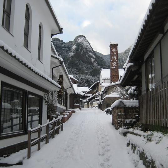 冬の大川内山.JPG