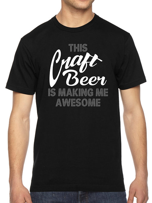 CRAFT UNISEX AWESOME BEER SHIRT