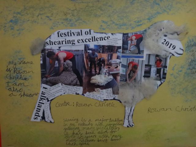 Shearing by Rowan Christie Year 6