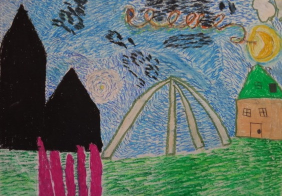 Christchurch Cathedral & Whalebone Arch, Stanley, by Asleigh Verasquez