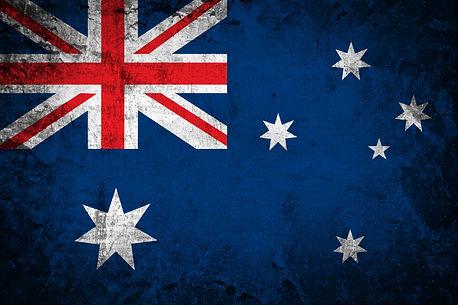 Australia flag on grunge paper .jpg