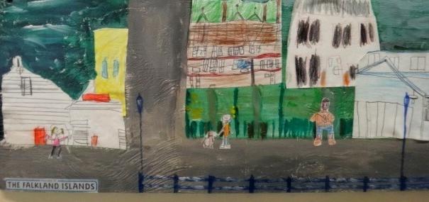Stanley Infant & Junior School mural