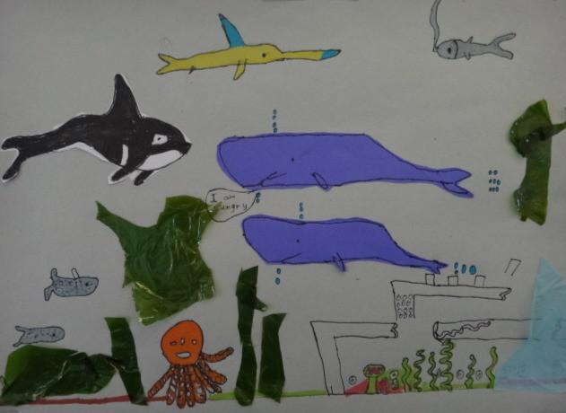 Life in the Ocean by Tinotenda Hochi