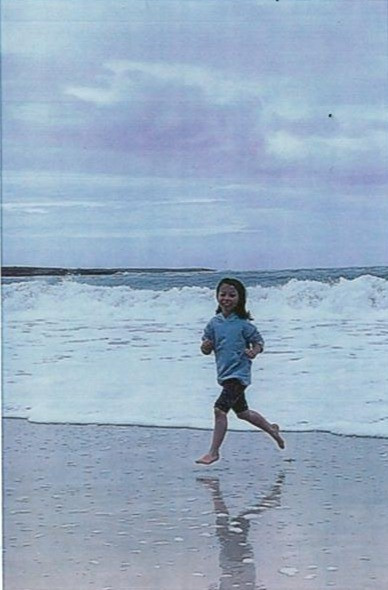 Quinn Barratt, aged 8