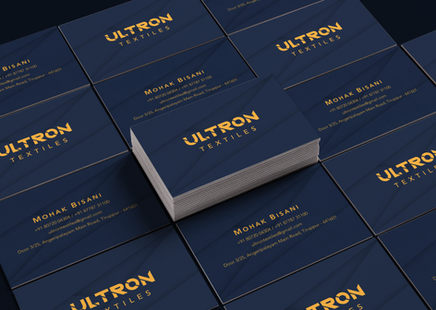 Business Cards | Ultron Textiles